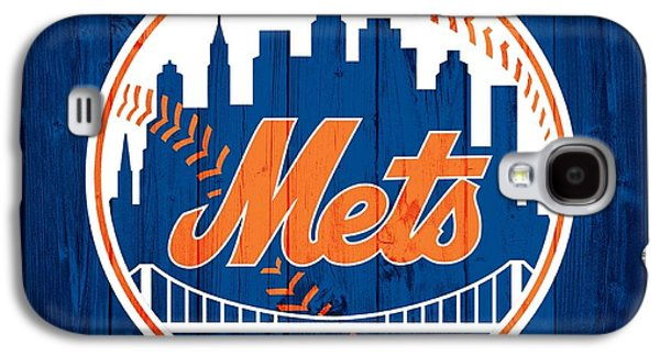 New York Mets Galaxy S4 Case - New York Mets Barn Door by Dan Sproul