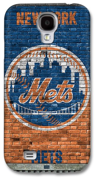 New York Mets Brick Wall Galaxy S4 Case
