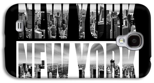 New York New York Galaxy S4 Case by Az Jackson