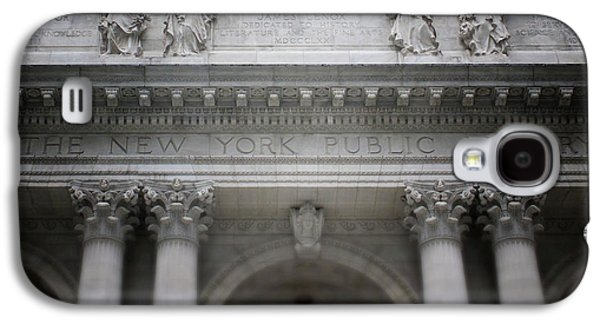 New York Public Library- Art By Linda Woods Galaxy S4 Case