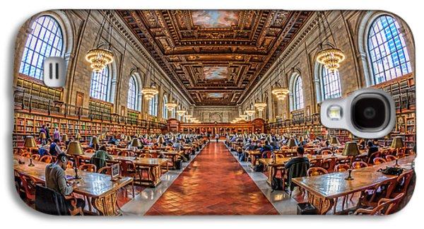 New York Public Library Main Reading Room I Galaxy S4 Case