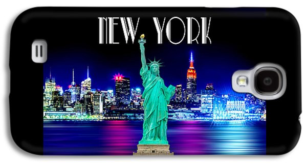 New York Shines Galaxy S4 Case by Az Jackson