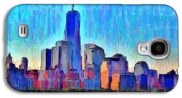 New York Skyline - Da Galaxy S4 Case by Leonardo Digenio