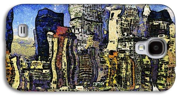 New York Stary Night Expressionism Galaxy S4 Case
