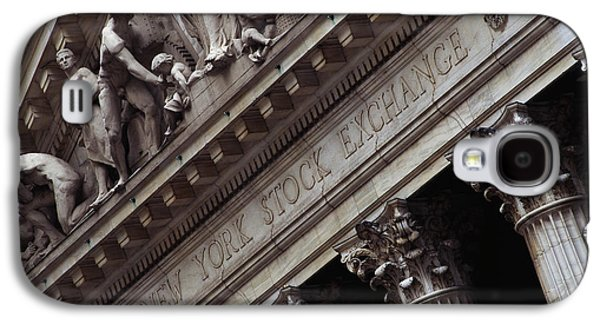 New York Stock Exchange New York Ny Galaxy S4 Case by Panoramic Images