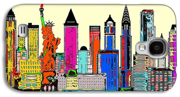 New York - The Big City Galaxy S4 Case