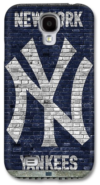 New York Yankees Brick Wall Galaxy S4 Case