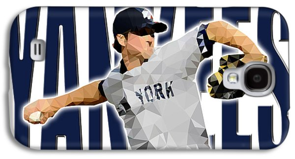 New York Yankees Galaxy S4 Case by Stephen Younts