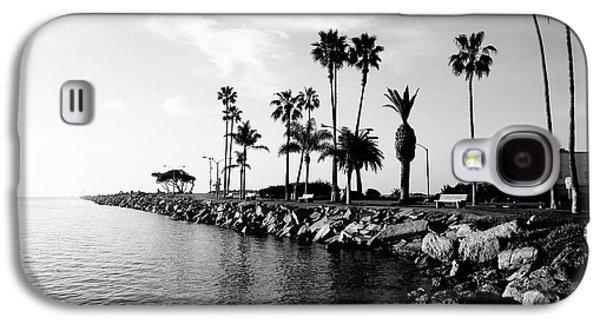 Newport Beach Jetty Galaxy S4 Case by Paul Velgos