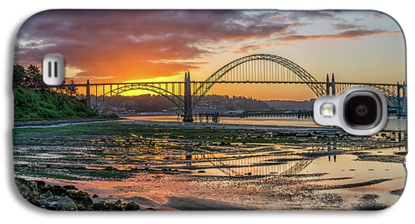 Newport Or Greeting Galaxy S4 Case