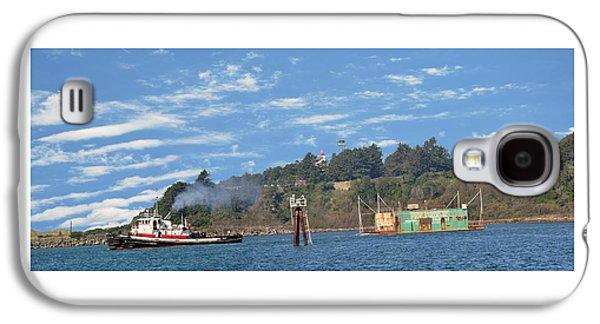 Newport Oregon - Yaquina Bay Traffic Galaxy S4 Case by Image Takers Photography LLC - Laura Morgan