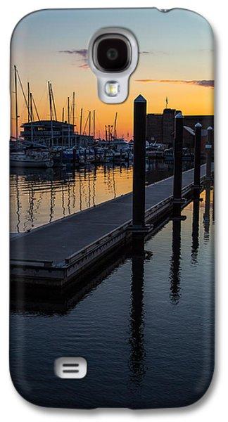 Newports Dusk  Galaxy S4 Case by Karol Livote