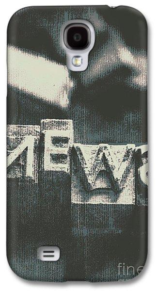 Newspaper Printing Press Art Galaxy S4 Case by Jorgo Photography - Wall Art Gallery