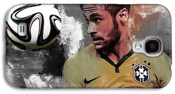 Neymar 051a Galaxy S4 Case by Gull G