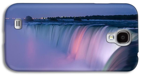 Niagara Falls At Dusk Galaxy S4 Case by Adam Romanowicz