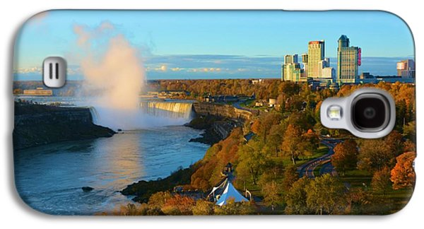 Niagara Horseshoe Falls Autumn Galaxy S4 Case by Richard Jenkins