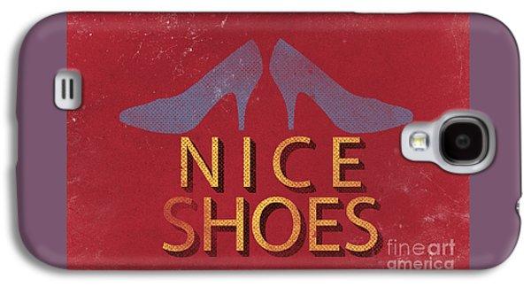 Nice Shoes  Galaxy S4 Case by Edward Fielding