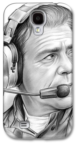 Nick Saban Galaxy S4 Case by Greg Joens