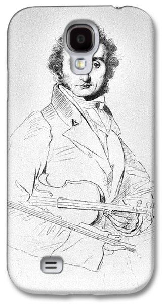 Nicolo Paganini (1782-1840) Galaxy S4 Case by Granger