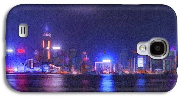 Night Hong Kong Galaxy S4 Case