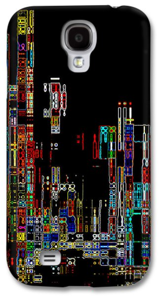 Night On The Town - Digital Art Galaxy S4 Case