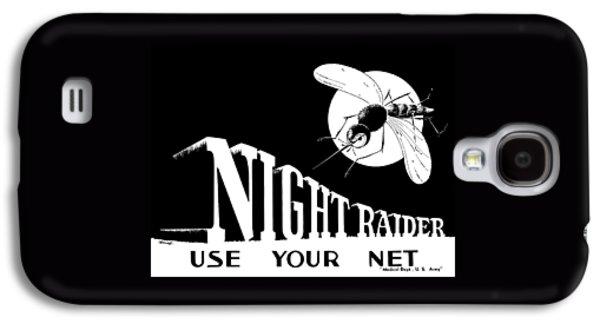 Night Raider Ww2 Malaria Poster Galaxy S4 Case