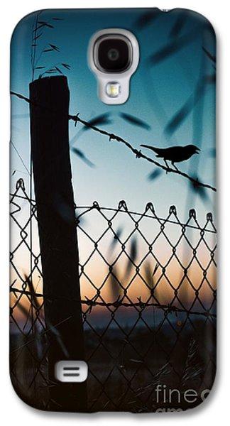 Night Sparrow Galaxy S4 Case by Carlos Caetano