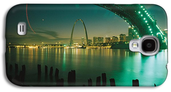 Night View Of St. Louis, Mo Galaxy S4 Case