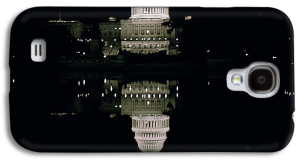 Night View Of The Capitol Galaxy S4 Case by American School