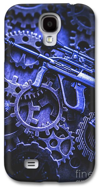 Night Watch Gears Galaxy S4 Case by Jorgo Photography - Wall Art Gallery