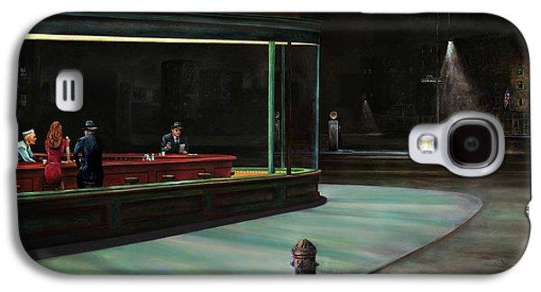 Nighthawks Galaxy S4 Case by Antonio Ortiz