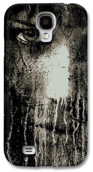 Nights Eyes Black And White Galaxy S4 Case