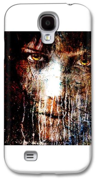 Night Eyes Galaxy S4 Case by Marian Voicu