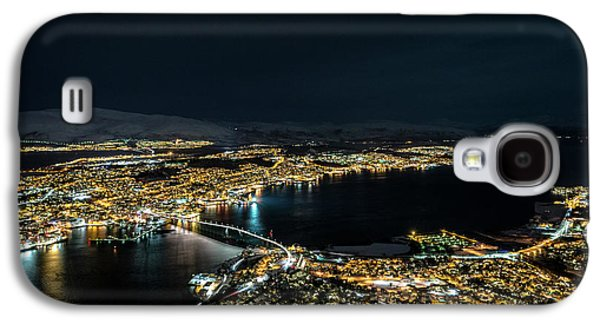 Nightscape Of Tromso Galaxy S4 Case by Travel Quest Photography