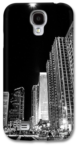 Nighttime Uptown Charlotte  Galaxy S4 Case