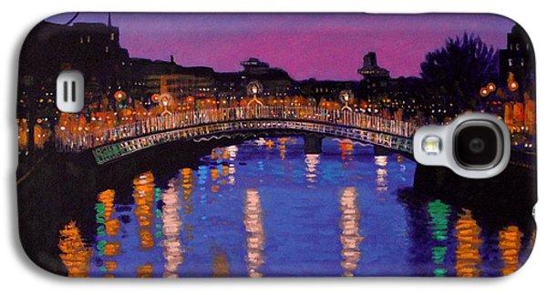 Nighttown Ha Penny Bridge Dublin Galaxy S4 Case