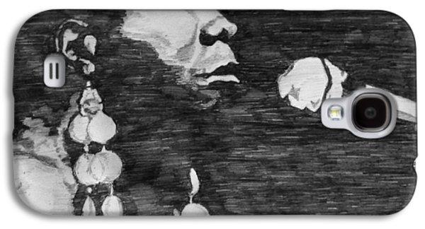 Nina Simone Galaxy S4 Case by Rachel Natalie Rawlins