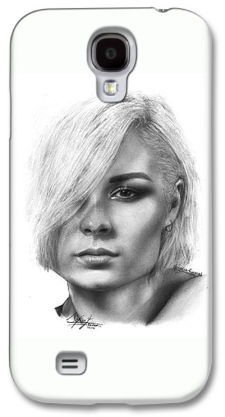 Nina Nesbitt Drawing By Sofia Furniel Galaxy S4 Case