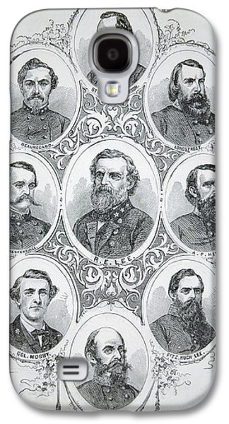Nine Portraits Of Prominent Generals Of Confederate Army Galaxy S4 Case