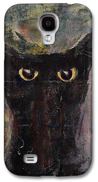 Ninja Cat Galaxy S4 Case by Michael Creese