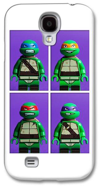 Studio Galaxy S4 Case - Ninja Turtles by Samuel Whitton