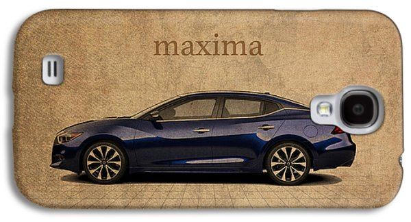Nissan Maxima Vintage Concept Art Galaxy S4 Case by Design Turnpike