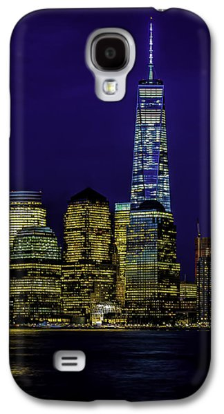 Nitetime Skyline Galaxy S4 Case by Nick Zelinsky