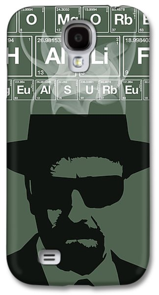 No More Half Measures - Breaking Bad Poster Walter White Quote Galaxy S4 Case