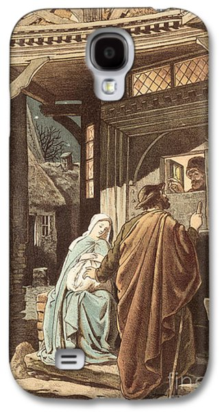 No Room At The Inn Galaxy S4 Case by Victor Paul Mohn