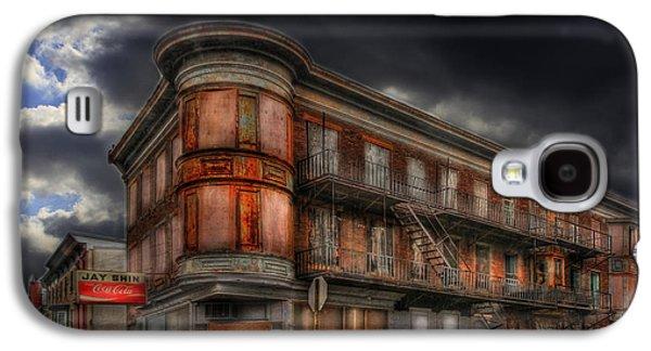 Creepy Digital Galaxy S4 Cases - No Vacancy Galaxy S4 Case by Shelley Neff