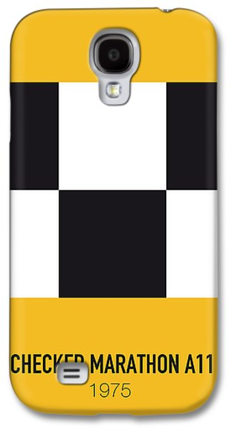 No002 My Taxi Driver Minimal Movie Car Poster Galaxy S4 Case