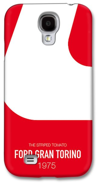 Knight Galaxy S4 Case - No003 My Starsky And Hutch Minimal Movie Car Poster by Chungkong Art