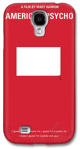 No005 My American Psyhco Minimal Movie Poster Galaxy S4 Case
