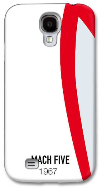 No008 My Speed Racer Minimal Movie Car Poster Galaxy S4 Case